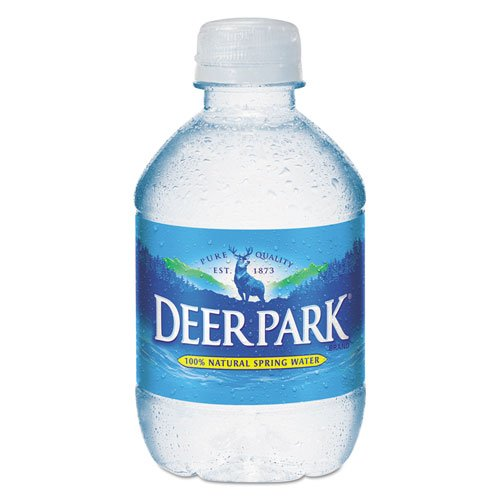 Deer Park Natural Spring Water, 8 oz Bottle, 48 Bottles/Carton -