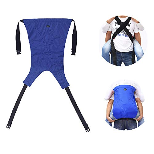 Patient Lift Sling Stair Slide Board Transfer Belt Emergency Evacuation Chair Up and Down The Stairs Disability Care Supplies Medical Equipment Transferring to Wheelchair, Chair, Bed