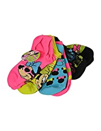 United Pacific Designs Minnie Mouse Size 6-8 Sock 6pk