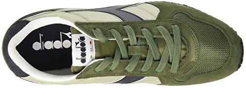 Diadora K-Run Ii, Zapatillas con Plataforma Para Hombre Verde (Olivine Green/Nine Iron)