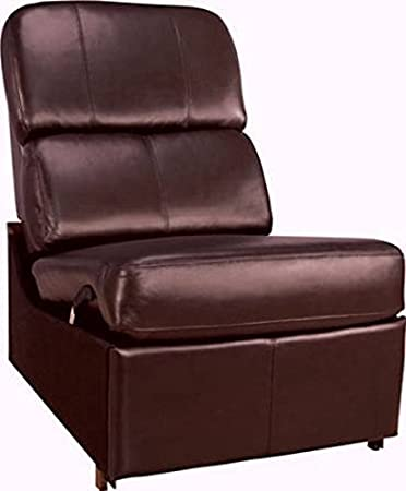 Pleasing Bello Hts103Bn No Arm Reclining Chair Brown Caraccident5 Cool Chair Designs And Ideas Caraccident5Info