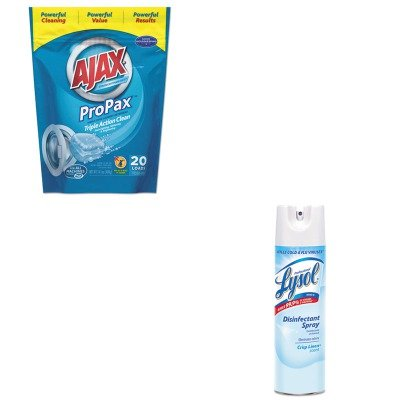 KITPBC49704RAC74828CT - Value Kit - Ajax Toss Ins Powder Laundry Detergent (PBC49704) and Professional LYSOL Brand Disinfectant Spray (RAC74828CT)