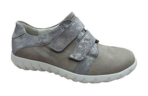 Waldläufer Klettschuh Kaleesi, Farbe: grau Grau