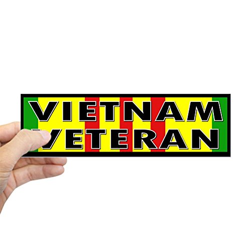 CafePress - VIETNAM VET Bumper Sticker - 10