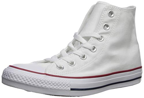 Converse Unisex Optical White M7650 - HI Top Sneaker Optical White Size 8.5