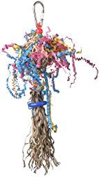 Super Bird Creations 10 by 2-1/2-Inch Polly Preener Bird Toy, Small