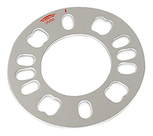 Wide Wheel Spacer (Kics (WP02) 2mm Adjustable Plate for Wide Thread Wheel Spacer)