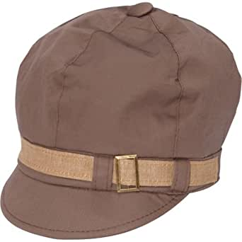 Magid Women's Belted Newsboy Cap (Tan)