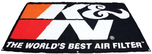 K&N Filters 89-11839 Nylon Screen Print Banner