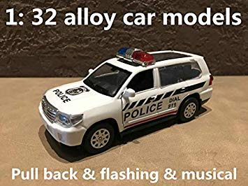1 32 Alloy car Models,high Simulation OffRoad Vehicles,Metal diecasts,Toy Vehicles,Pull Back & Flashing & Musical