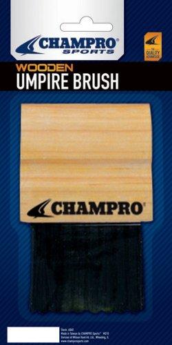 Champro Wood Handle Umpire Brush - Brush Umpire