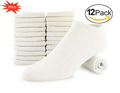 Tall Mens Athletic Socks - Men's 12-pack Big & Tall Cotton No Show Athletic Low Cut Sock