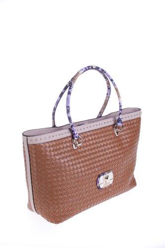 Guess sac à main pour femme cognac vG405024 kiera
