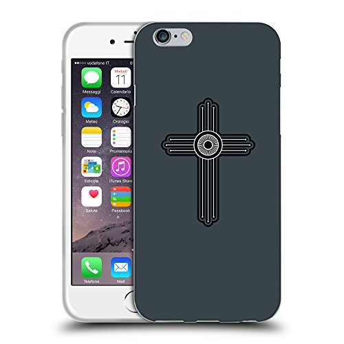 GoGoMobile Coque de Protection TPU Silicone Case pour // Q07980606 Christian Cross 23 Arsenic // Apple iPhone 6 4.7""