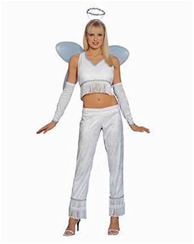 Franco Womens Charming Angel Girl Costume One Size White