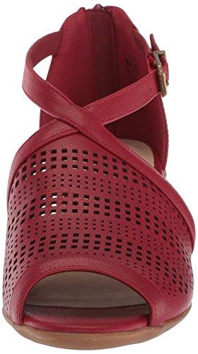 Sandalo Con Tacco Anita Donna Easy Street Rosso