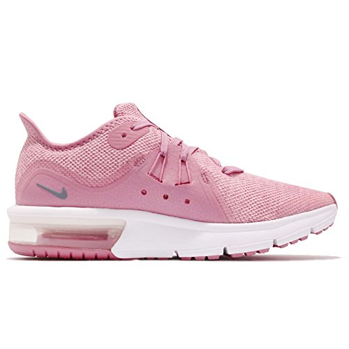 601 Pink 3 elemental pink Chaussures gs Air Multicolore Max ashen Sequent Compétition Nike Running Femme De Slate white qwFT7g7nx