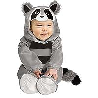 Disfraz de bebe, disfraz de mapache, para bebé, para niños del mundo, multi, grande