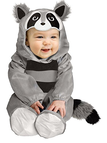 Fun World Baby Raccoon Toddler Costume, Small, Multicolor for $<!--$24.95-->