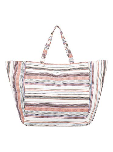 Roxy Time is Now Beach Tote Bag, Natural