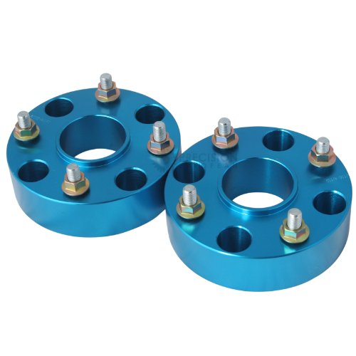 RockTrix 1.5 Thick 4x156 Wheel Spacers 3//8x24 Studs, Flat Nuts | 4//156 Silver V1 38mm Compatible with various Polaris /& Kawasaki ATVs UTVs See Description for Year//Model Pack of 4