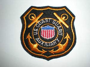 US Coast Guard Auxiliary Patch by HighQ Store