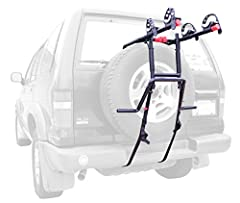 Allen's premier 2-bike spare tire mounted carrier delivers incredible ease of use with our patented quick-set up design, along with our dual compound tie-down cradles to fully secure and protect your bicycles. The extra wide bottom foot helps...