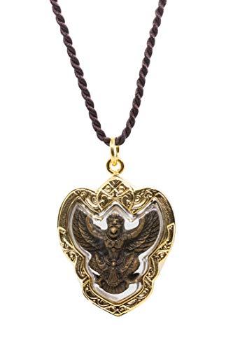 Golden Amulet Garuda Thai Buddha Amulet Pendant