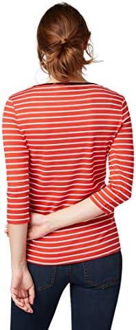 TOM TAILOR dla kobiet koszulki/topy w paski: Odzież