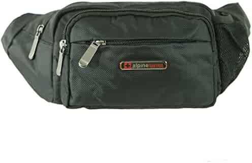 Alpine Swiss Fanny Pack Secure Travel Case Adjustable Belt Sport Pouch Waist Bag