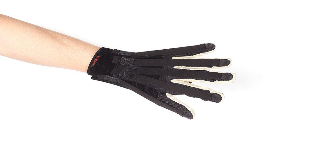 Aider Finger Splints Rehabilitation Gloves (Large Left)