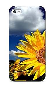 Snap-on Case Designed For Iphone 5c- Flower 2523441K87893572