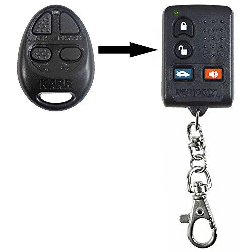 qualitykeylessplus New Aftermarket Remote Keyless Entry Fob KARR FCC ID PF743301 or OXC743301