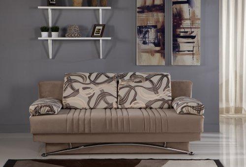 Istikbal Fantasy Sofa Sleeper in Best Vizon