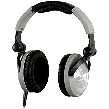 Ultrasone PRO 550 S-Logic Surround Sound Professional Closed-back Headphones with Transport Box