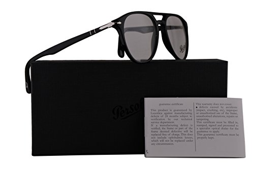 Persol PO3160V Eyeglasses 50-18-145 Black w/Demo Clear Lens 9014 PO 3160-V PO3160-V PO 3160V (Eyeglasses Persol For Women)