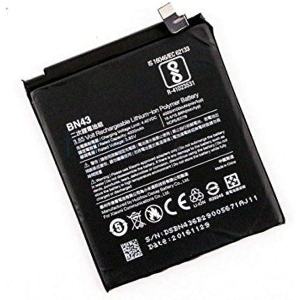 Theoutlettablet® BATERIA Compatible con XIAOMI REDMI Note 4X BN43 4000 mAh Voltaje 4.4V: Amazon.es: Electrónica