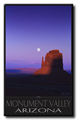 monument valley vintage poster