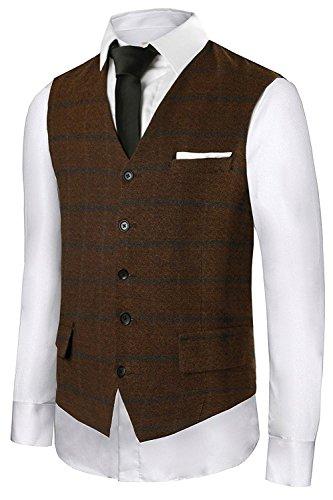 Hanayome Mens Gentleman Top Design Casual Waistcoat Business Suit Vest VS17