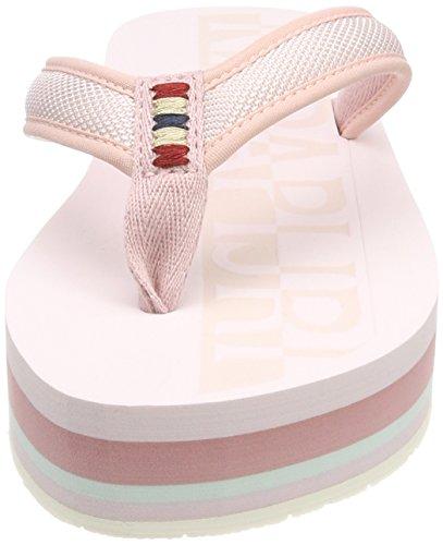 Napapijri pale Pink Pink Donna Ariel Infradito q4TqxnS1g 9ed54c959c1