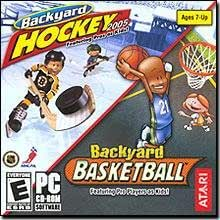 backyard hockey 2005 pc backyard basketball pc mac