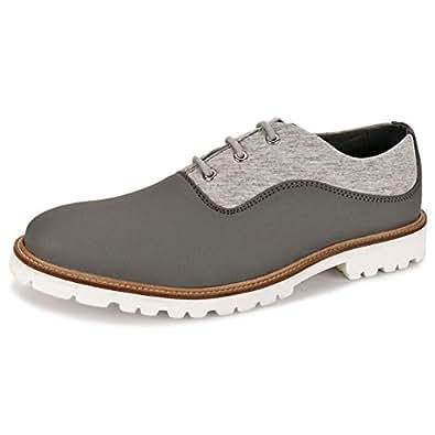 Koovs Grey Fashion Sneakers For Men