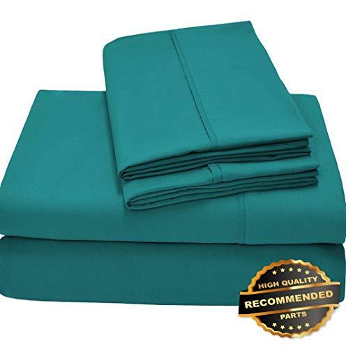 - Ellyly Premium New Ultra Soft Premium 1800 Microfiber Sheet Set (Includes 2 Free Bonus Pillowcases) | Style CMFTR-120218718 | Twin XL