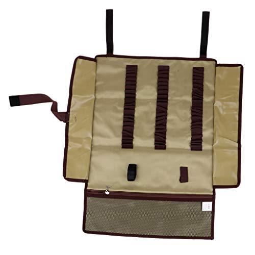 章ジャーナル想定するperfk オックスフォード布 テントペグ収納ケース ハンマー収納バッグ 全2色