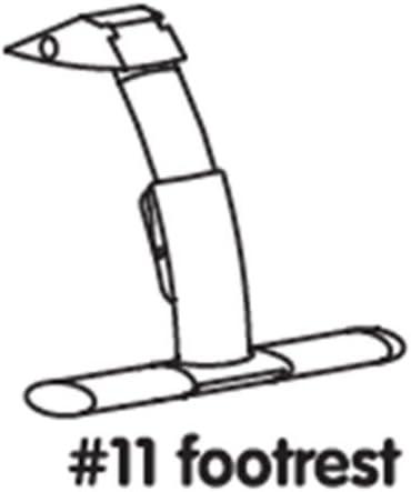 pour chaise Pièce Bloom haute de Repose rechange Fresco RLAj354q