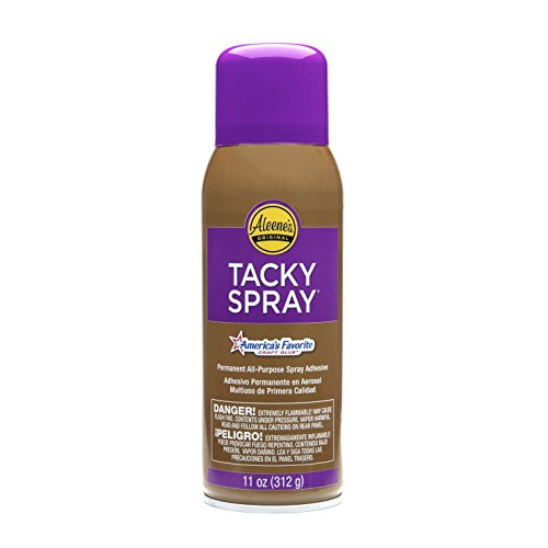 Aleenes All Purpose Tacky Adhesive Spray, 11-Ounce