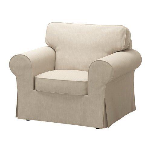 Amazon.com: Ikea Chair cover, Nordvalla dark beige ...
