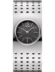 Calvin Klein Grid Womens Quartz Watch K8324107