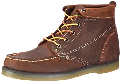 Sebago Waldo Mens Leather Boots / Shoes - Brown - SIZE US 9.5