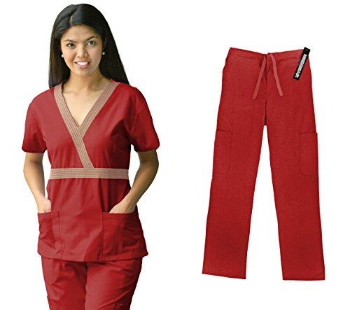 Material Girl Womens Scrub Uniform